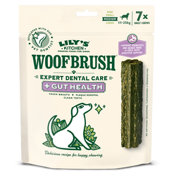 Medium Woofbrush Gut Health Dental Chew (multipack)