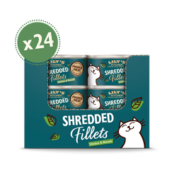 Chicken with Mussel Shredded Fillets (24 x 70g)