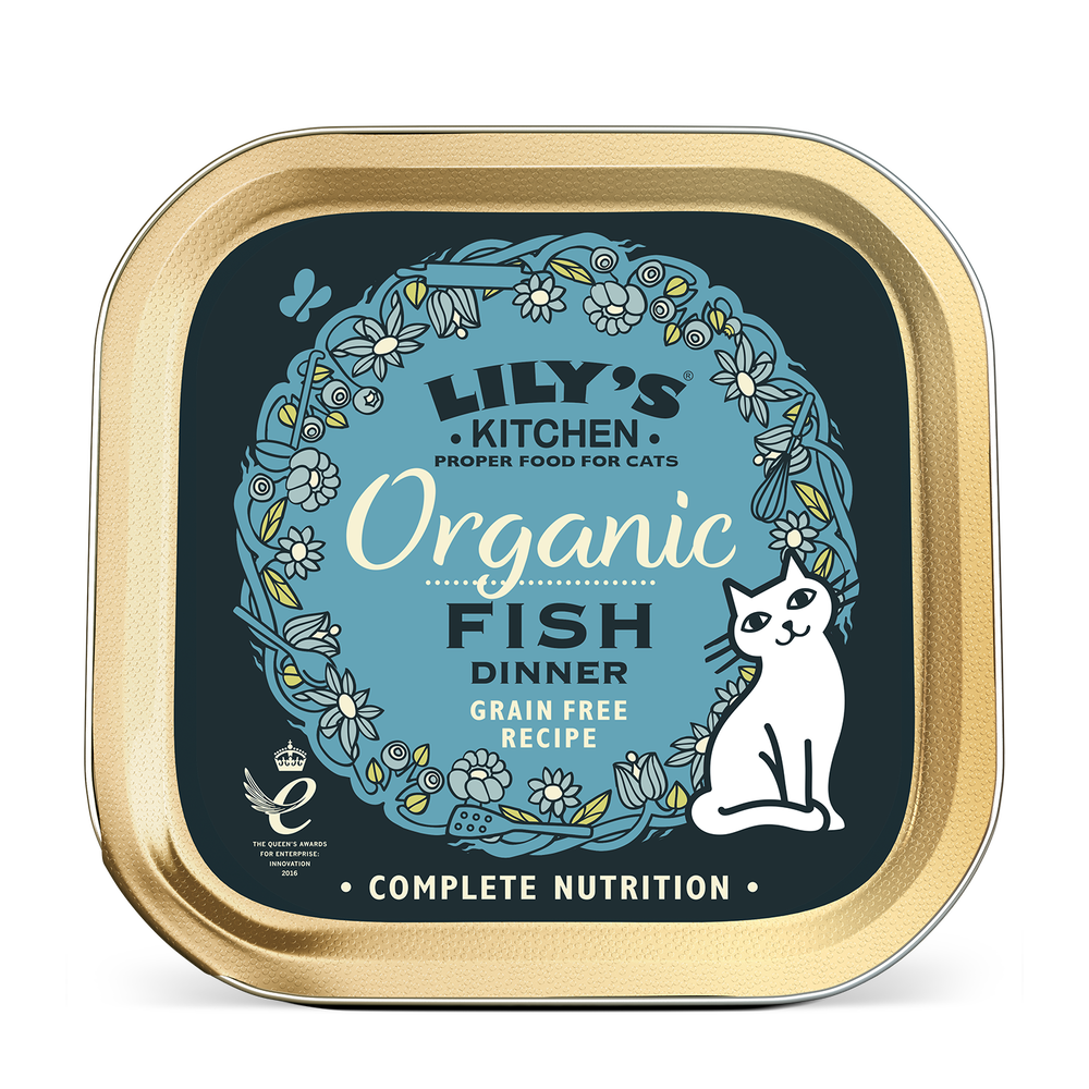 Organic Fish Dinner for Cats | Lily\'s Kitchen