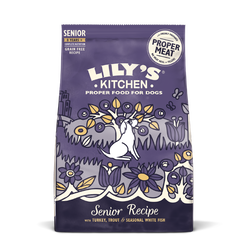 Turkey & Trout Dry Food for Senior Dogs