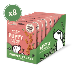 Chicken and Salmon Nibbles Puppy Treats (8 x 70g)