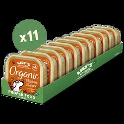 Organic Chicken Supper (11 x 150g)