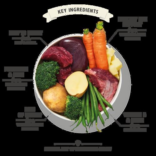Mini Beef, Potato & Vegetable Dinner (200g)