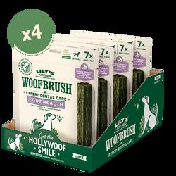 Large Woofbrush Gut Health Dental Chew (4 x multipacks)
