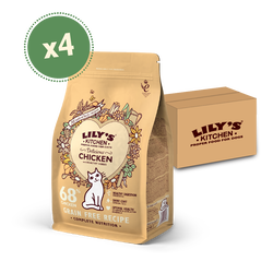Delicious Chicken Dry Food (4 x 800g)