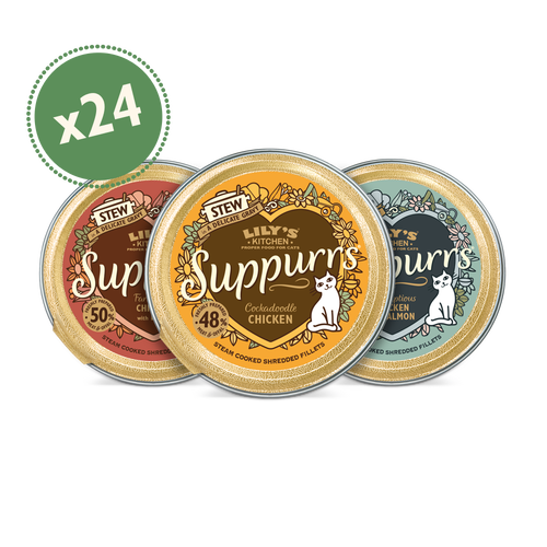 Suppurrs Favourites 24 x 85g  Multipack