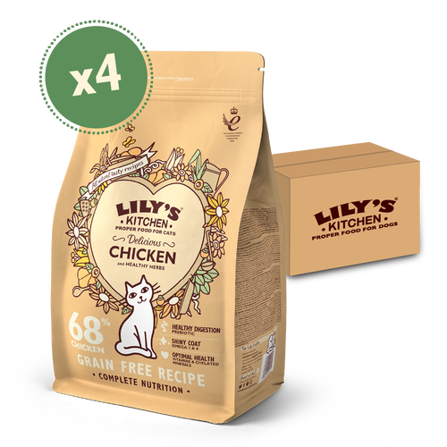 Delicious Chicken Dry Food (4 x 2kg)