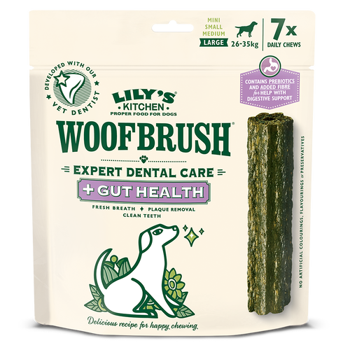 Large Woofbrush Gut Health Dental Chew (multipack)