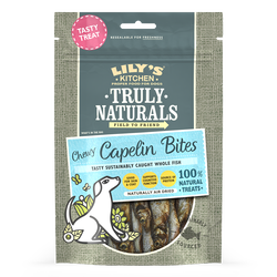 Chewy Capelin Bites