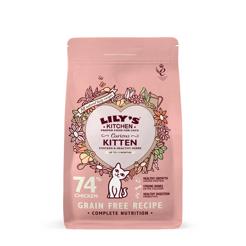 Curious Kitten Dry Food (800g)