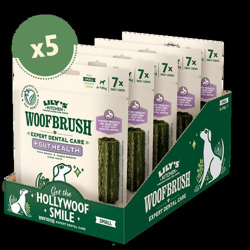 Small Woofbrush Gut Health Dental Chew (5 x multipacks)