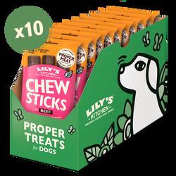 Chew Sticks with Beef (10 x 120g)