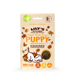Chicken & White Fish Slices Treats for Puppies