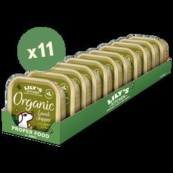 Organic Lamb Supper (11 x 150g)