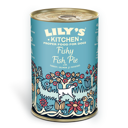 Fishy Fish Pie with Peas (400g)
