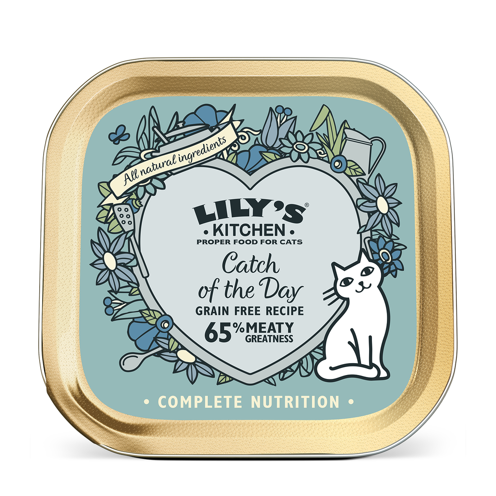 Catch of the Day for Cats | Lily\'s Kitchen