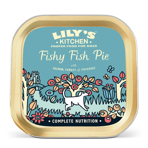 Fishy Fish Pie with Peas (150g)