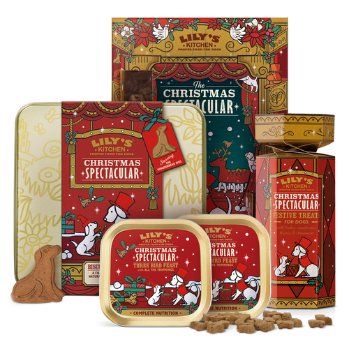 Christmas Spectacular Gift Set for Dogs