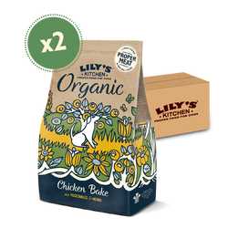 Organic Chicken & Vegetable Dry Food (2 x 7kg)