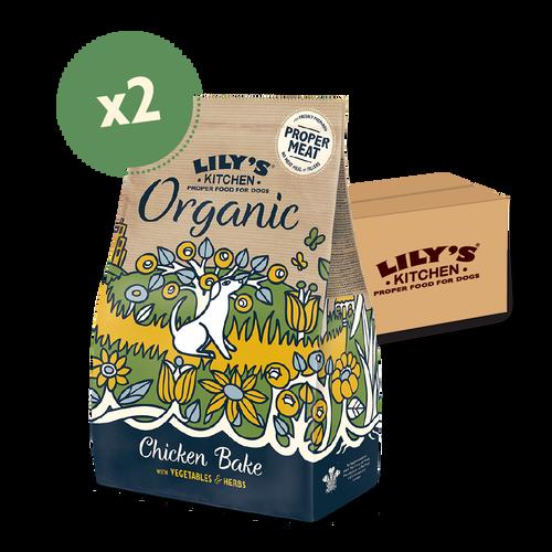 Organic Chicken & Vegetable Dry Food (2 x 7kg)