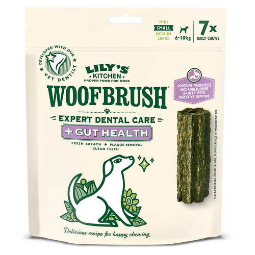 Small Woofbrush Gut Health Dental Chew (multipack)