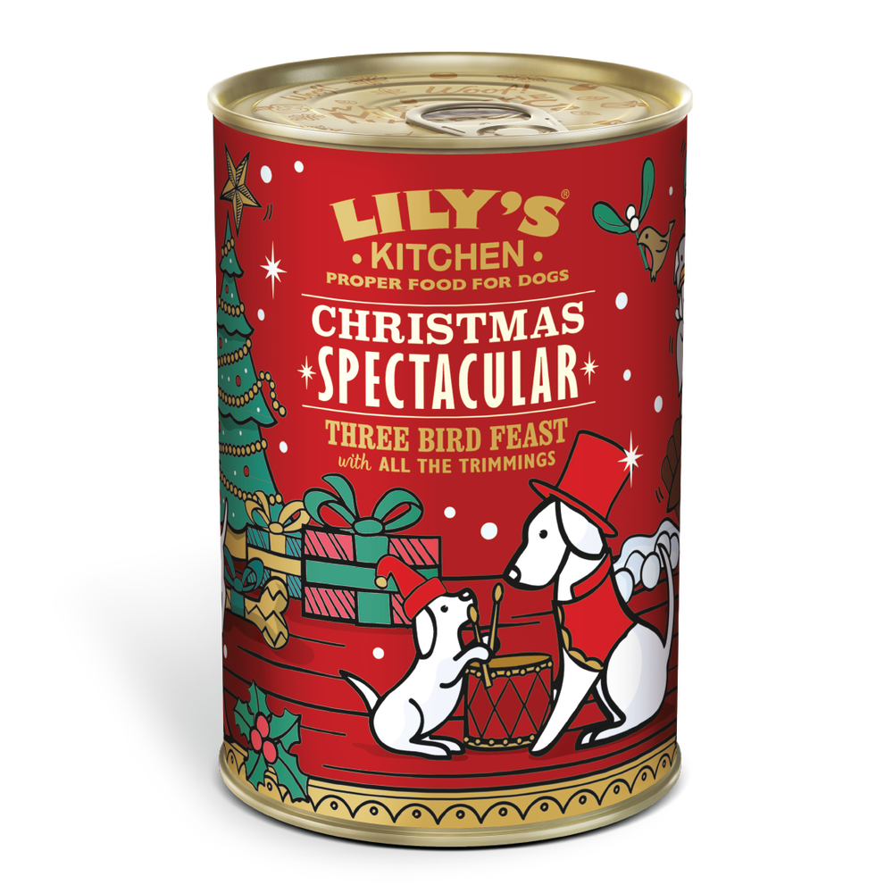 Christmas Dinner In A Tin.Christmas Tin