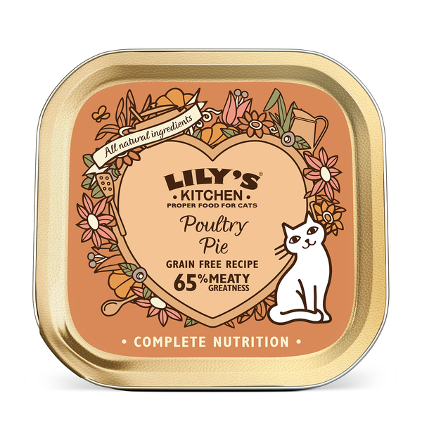 Poultry Pie For Cats Lily S Kitchen