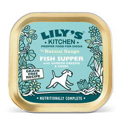 Fish Supper With Garden Greens & Herbs (150g)
