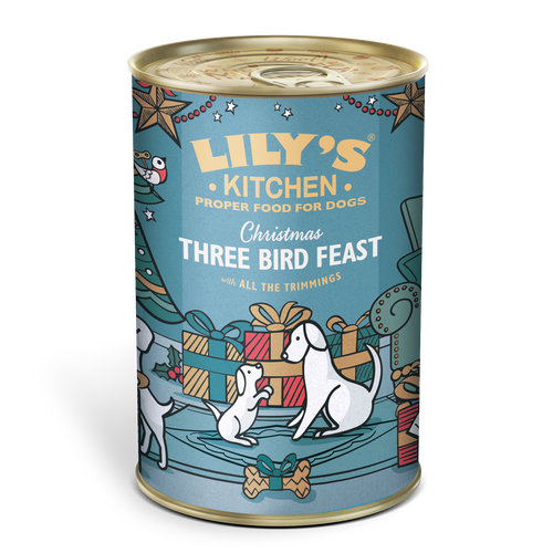 Christmas Three Bird Feast 2017 (400g)