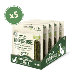 Small Woofbrush Dental Chew (5 x multipacks)