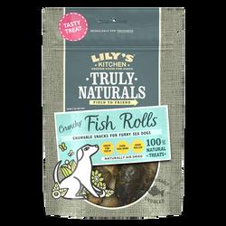 Crunchy Fish Rolls