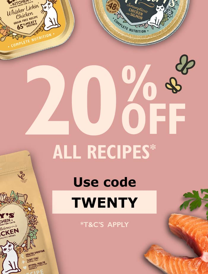 20% Off Proper Food for Pets