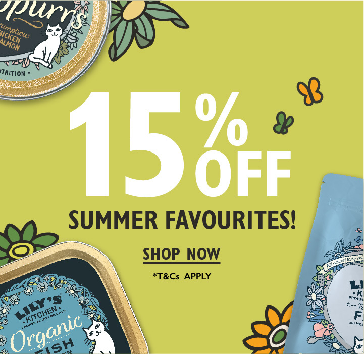 15% off Summer Favourites