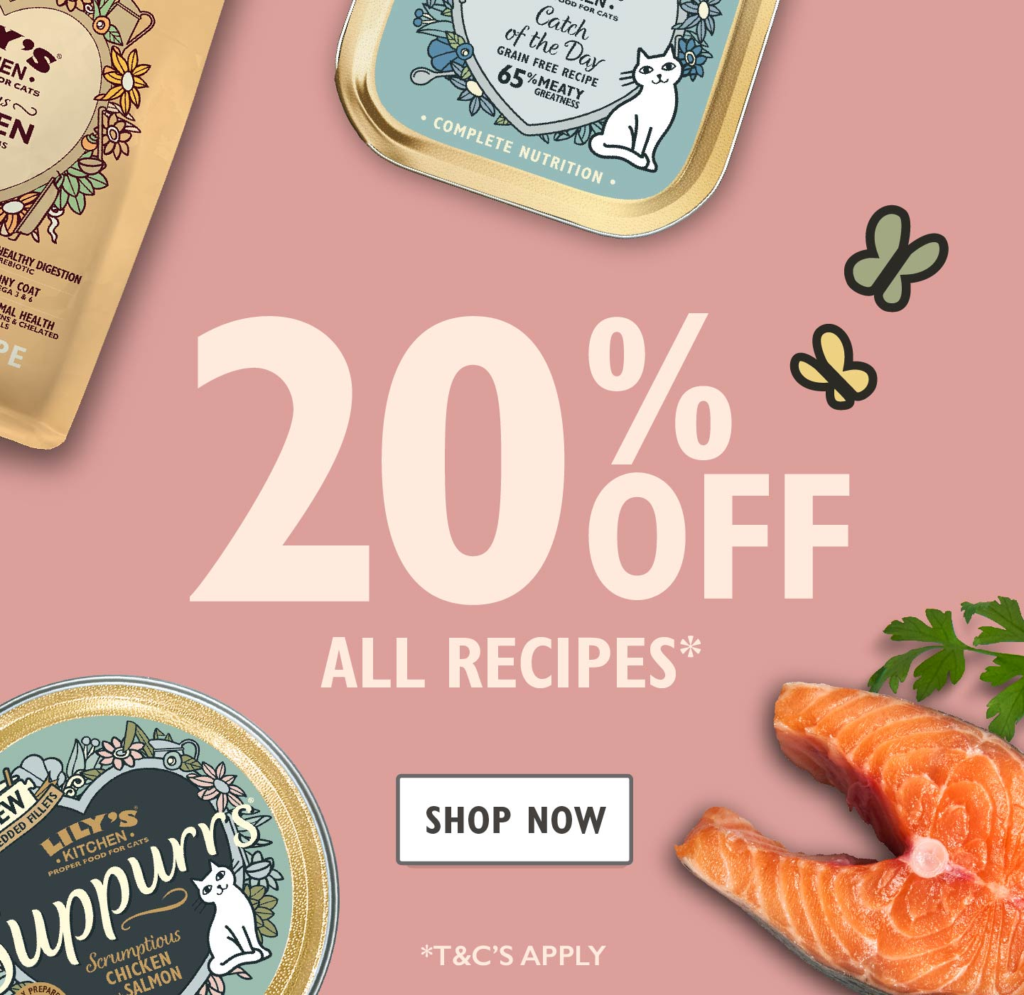 20% Off Proper Food for Cats