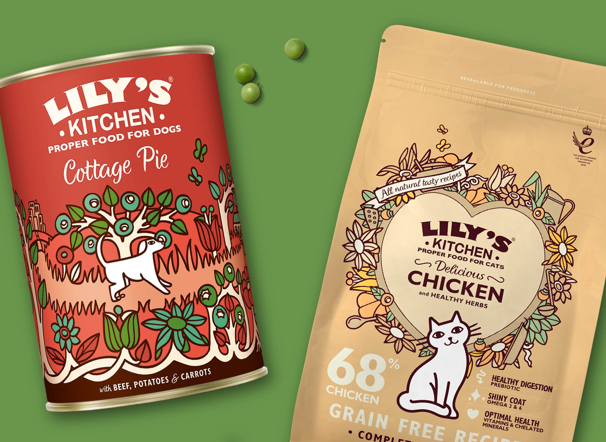 Natural & Healthy Cat & Dog Food | Lily's Kitchen