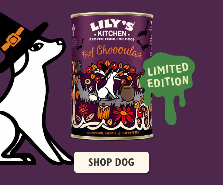 Halloween Dog Food
